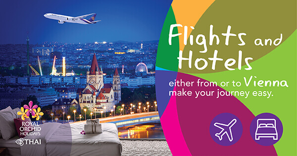 Best offer when Flying with THAI either from or to Vienna