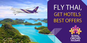 ROH EXCLUSIVE OFFERS WHEN FLYING WITH THAI