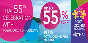 55th Celebration with Royal Orchid Holidays