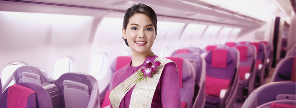 See THAI's World in Royal Silk Business Class from $3,291 return...