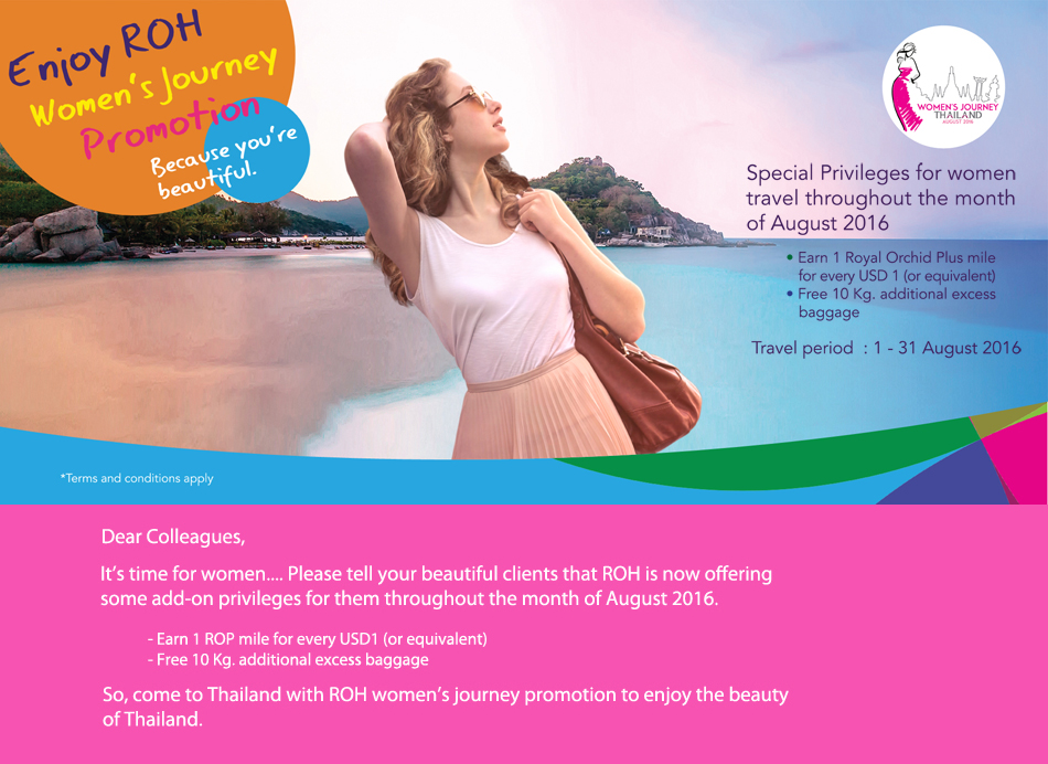 Women's Journey Promotion