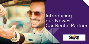 Introducing our Newest Car Rental Partner