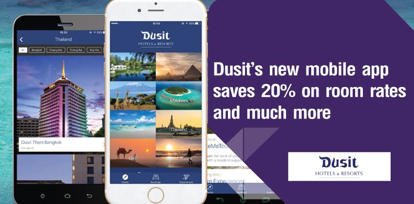 Go Mobile App with Dusit