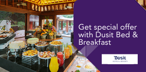 Get special offer with Dusit Bed & Breakfast