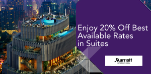 Enjoy 20% Off Best Available Rates in Suites