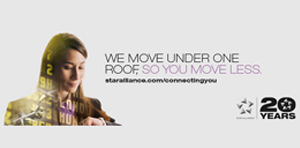 We move under one roof, so you move less