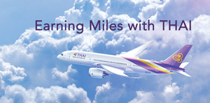 Earning Miles with THAI