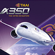 THAI's First A350 Arrives in Thailand