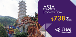 Spring Fare Sale to Asia