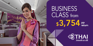 Spring Busines Class Sale to Thailand, Asia or Europe