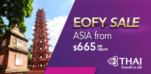 EOFY Sale to Asia