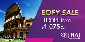 EOFY Sale to Europe