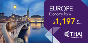Spring 'Early Bird' Fare Sale to Europe