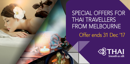 Special offers for THAI travellers from Melbourne
