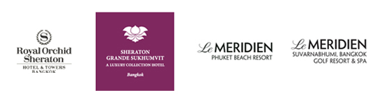 Sheraton and Le Meridien Logos