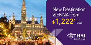 Spring Fare Sale to Vienna
