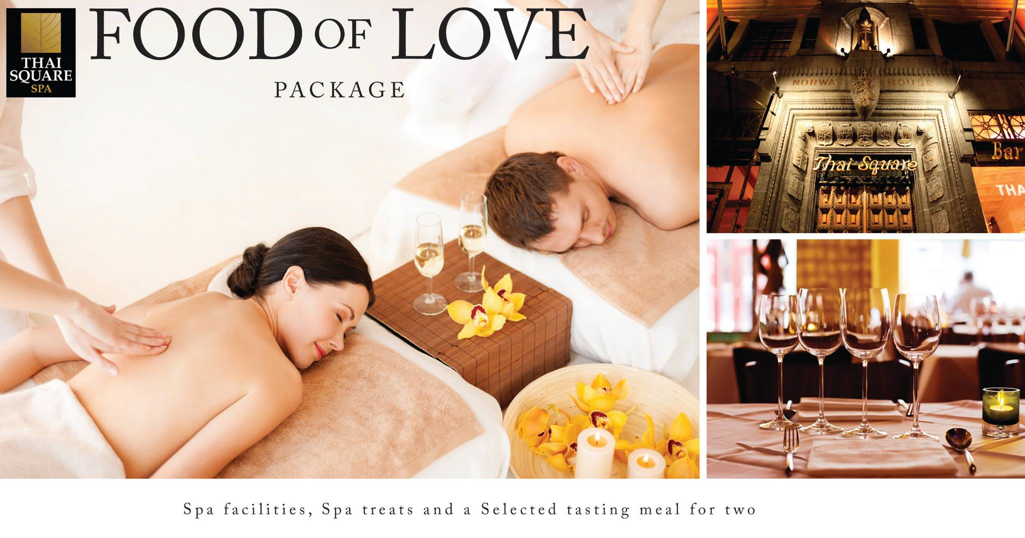Thai Square Spa Food of Love Package