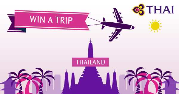 Win a holiday with THAI