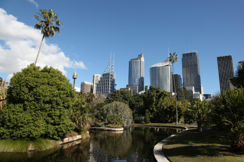 Royal Botanic Garden and City