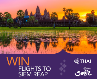 Win Flights to Siem Reap!