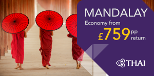 London to Mandalay Offers