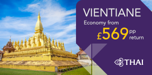 London to Vientiane Offers