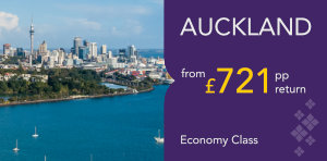London to Auckland Offers