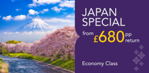NETWORK SPECIAL FARE JAPAN