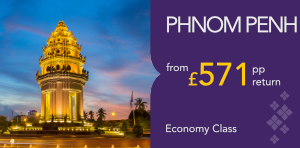 London to Phnom Penh Offers