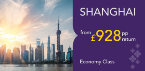 London to Shanghai Offers