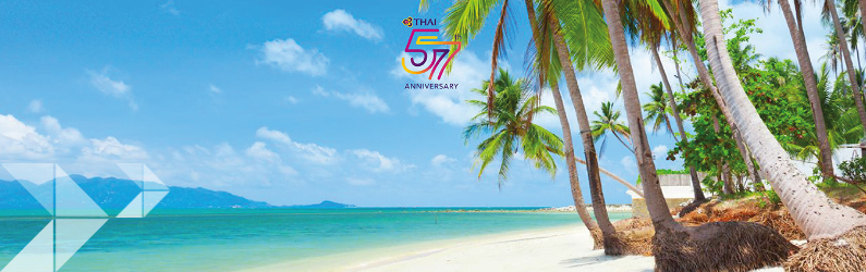 Thai Airways 57th Anniversary Promotion