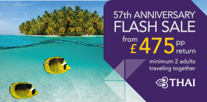 Thai Airways Flash Sale