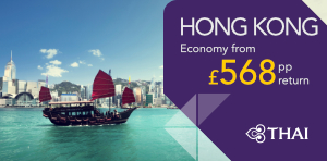 London to Hong Kong Offers