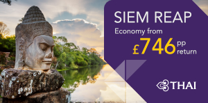 London to Siem Reap Offers