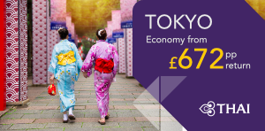 London to Tokyo Offers
