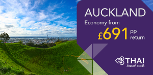New Zealand flight deals from London