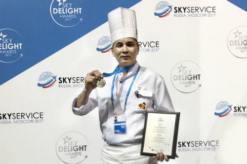 THAI Catering Chef Receives Bronze Medal at Sky Service Forum 2017