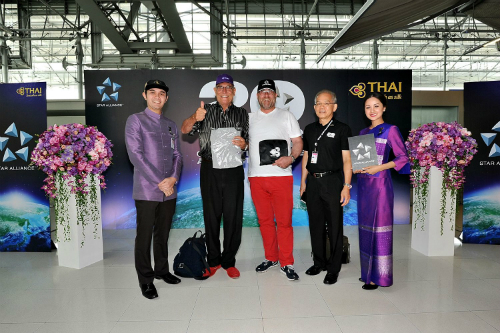 Star Alliance's 20th Anniversary Celebrations at Bangkok International Airport