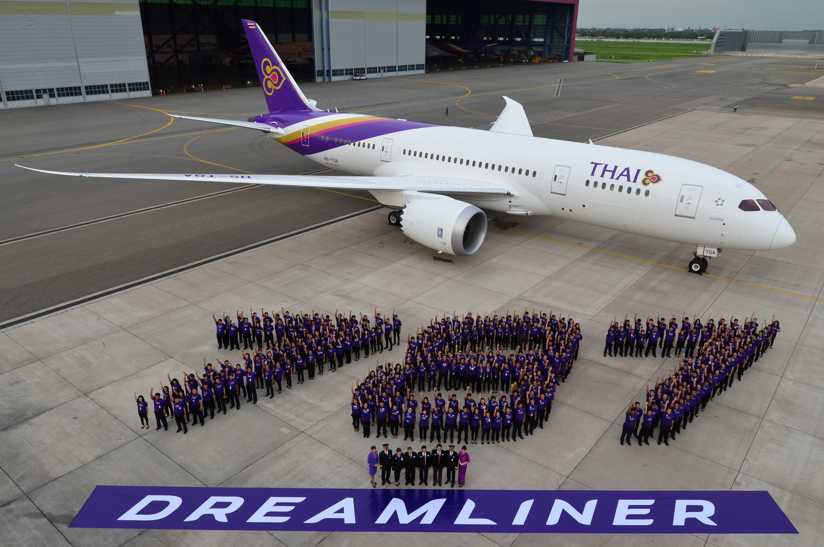Image result for thai airways 787