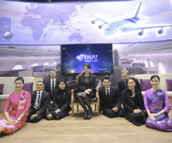 THAI welcomes HRH Princess Ubolratana Rajakanya to WTM 2016