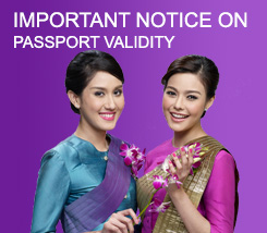 Important Notice on Passport Validity
