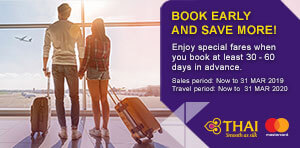 BOOK EARLY AND SAVE MORE