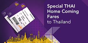 Special Thai Home Coming Fares