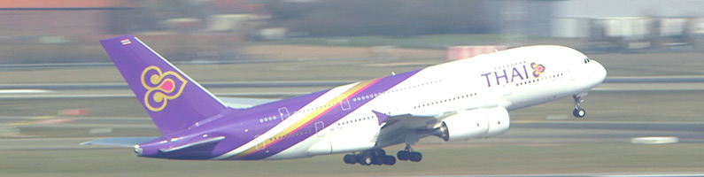 THAI A380-Paris CDG