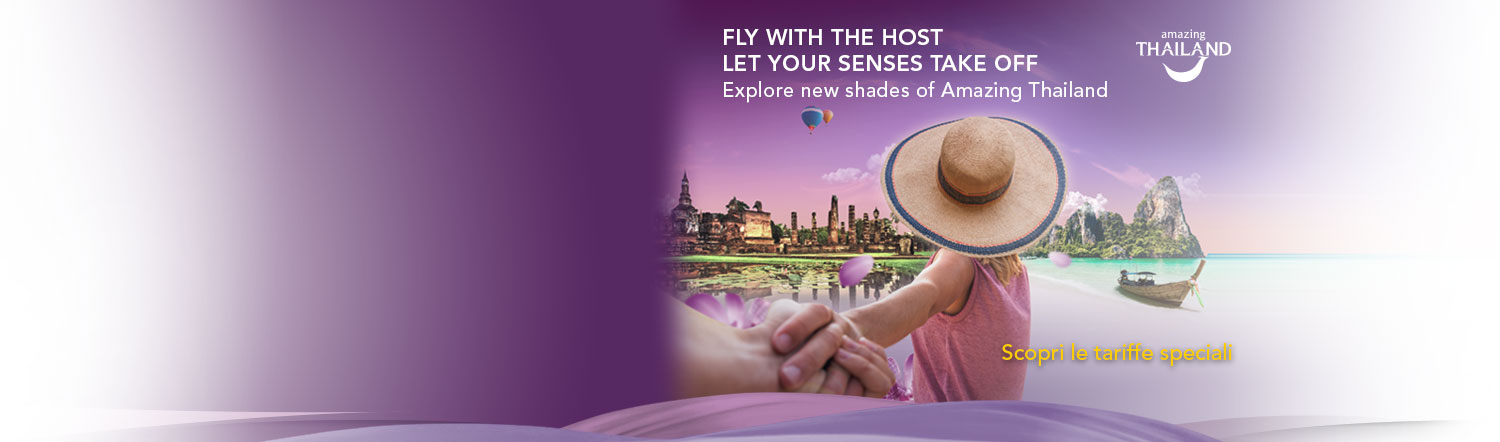 Fly with the Host. Let your Senses take off.