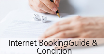Internet Booking Guide & Condition