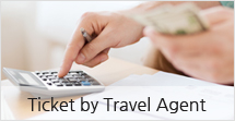 Ticket by Travel Agent