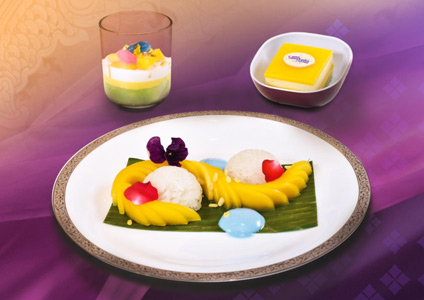THAI Serves Special Desserts During Songkran Festival 2019