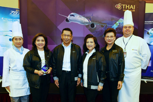 THAI Wins Best Inflight Food 2017 from IFSA